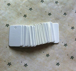332cm classic style white blank cardstock price tag place card handmade soap tags 500pcs lots free shipping