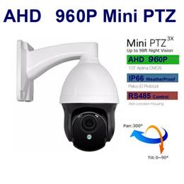Venta al por mayor de Cámara CCTV 960P AHD Cámara mini PTZ Cámara domo Speed dome 3X Zoom 3 pulgadas 2.8-8mm