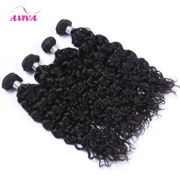 Discount unprocessed human hair wet curly - Brazilian Straight Body wave loose wave curly deep wet water wave Human Hair Extensions 1pcs Bundles 100% Unprocessed Vi