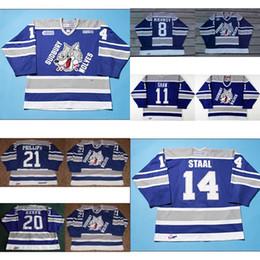 7f35e96b3 Customize OHL Sudbury Wolves Jersey 8 Mikhnov 21 Ryan Philips 20 Adam Keefe  11 Jeff Shaw Mens Womens Kids Hockey Jerseys Goalit Cut