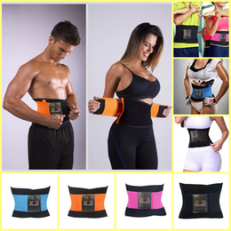 79e1e4e2f5 Wholesale- 2017 Newest Women Men Sports Waist Trainer Training Xtreme Power Belt  Shaper Adjustable Fitness Waist Support Sports Safety