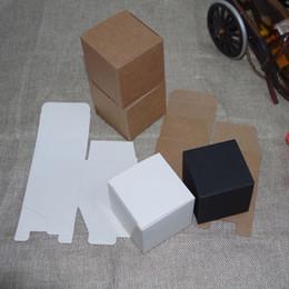 Packaging For Lipstick Australia - 2018 Rushed 50pcs lot 8cmx8cmx6cm-12cm 4sizes White kraft Paper Box Diy Lipstick Perfume Oil Bottle Packaging Boxes for Tube Valve Packing