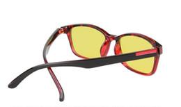 China free shipping Men Goggle Anti-UV Sunglasses Women Night Vision Goggles Driving Mirror Eyeglass Radiation Protection Glasses BanS suppliers