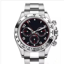 Ship Free Mens Wrist Watches Canada - Goog quality mens sports watch automatic watches mechanical mens black dial mens wrist stainless steel band fashion mans watch free shipping