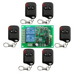 $enCountryForm.capitalKeyWord Canada - Wholesale-DC12V 10A 2CH 315MHz 433MHZ Wireless RF Remote Control Switch 6* cat eye Transmitter+ 1*Receiver for Appliances Gate Garage Door