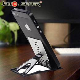 $enCountryForm.capitalKeyWord Canada - Universal desk cell phone holder For Iphone 6 6s plus Stand Display Folded Holder For Samsung Adjustable Support Phone Holder