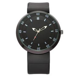 Designer Watch Straps UK - Hot Sale!Men New Fashion Silicone Watches Straps Students Leisure Brand Designer Pointer Display Quartz Movement Sports Watch 2138 Wholesale