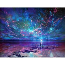 Fantasy Sky 100% Full Drill DIY Diamond Painting Embroidery 5D Cross Stitch  Crystal Square Home Bedroom Wall Decoration Decor Craft Gift