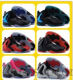 cheap sale athletic shoes 2019 - Wholesale Flightposite basketball shoes Penny hardaway Sports Shoes Mens Athletics Cheap Shoes Mens Training Sneakers Di