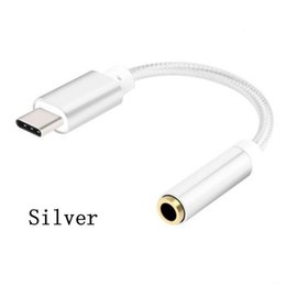 $enCountryForm.capitalKeyWord Canada - USB 3.1 Type C to 3.5mm Adapter Cable Headphone Earphone Jack AUX Type-C Convertor Cabel for Letv Leeco Le Max 2