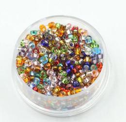 Venta al por mayor de Envío libre 2mm 1000 unids Granos del espaciador de cristal de cristal checo granos de la semilla para DIY hecho a mano perlas de cristal facetadas