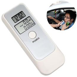 Опт 50 шт. / лот 5 в 1 тестер алкоголя цифровой анализатор дыхания ЖК-алкотестер ЖК-дисплей Белый Бесплатная доставка (DY)