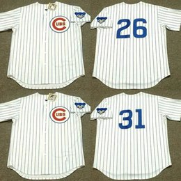 1812c4d0 ... Cheap 26 BILLY WILLIAMS 31 FERGUSON JENKINS Chicago Cubs 1969 Throwback  Home Baseball Jersey stitched ...