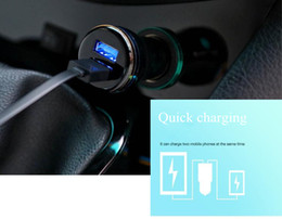 Discount universal 12v charger for car - Universal Dual USB Port Car Charger DC 12V-24V 3.1A Car Charger For iphone 7 7 plus 6 Samsung S7 Smartphone