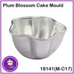 $enCountryForm.capitalKeyWord NZ - New 18141 M-C17 Plum Blossom Shape Aluminum Alloy Anodizing Round Cake Mold Pudding Mold Baking Moulds Bakeware kitchen tools