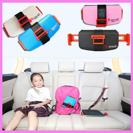 Barato Arnês De Assento Portátil-Strolex Mini Folding Baby Kids Criança Car Safety Seats Portable Travel Pocket Booster Cushion Stroller Safety Harness Seat
