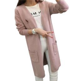 Discount Wholesale Long Sweater Coats | 2017 Wholesale Long ...