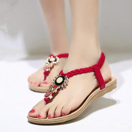 17c0d077a Fashion sandals wholesale online shopping - Summer Vintage Women Wedge  Woman Shoes Fashion ladies with decorations