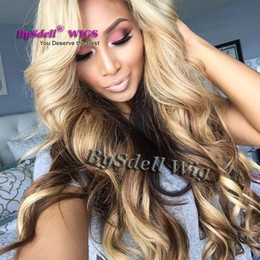 $enCountryForm.capitalKeyWord Canada - Long Sexy Lady Kim K Curl Wave Hairstyle Wig Synthetic Heat Resistant Lace Front Wigs Blonde Cover Black Color Wigs for Black Women