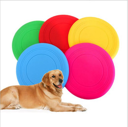 pet toys for dogs dog frisbee multi colors soft toys throwing safe nontoxic perfect for pets outdoor playing training