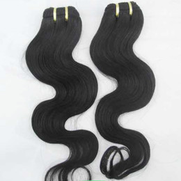 Single Hair Weave UK - Indian Temple Human Hair Single donor Cheapest Hair Weave 5pcs lot Fast Deal & Dimond House