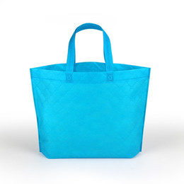 Fruits cover online shopping - Personality Reusable Handbag Non Woven Clothing Shopping Bag Easy To Carry Folding Portable Bags For Clothes Fruit gs B R