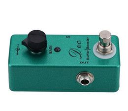 $enCountryForm.capitalKeyWord Australia - New! Mini DEC Buffer Booster Guitar Effect Pedal Two Effects Buffer and Boost Pedals True Bypass