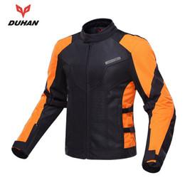 Summer Motorcycle Jackets NZ - New DUHAN Summer Motorcycle Jackets Breathable Motorcycle Body Protector Motorcycle Racing Protective Armor Jacket
