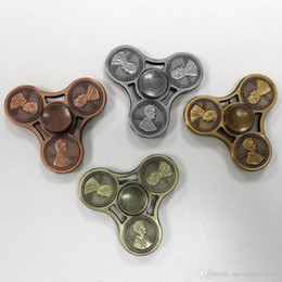 Hand spinner pk online shopping - 2017 Vintage Cents Coins Hand Finger Spinner Gyro Gag Toys Fidget Spinner Fingers Novelty Toys Metal Zinc Alloy Pk CKF
