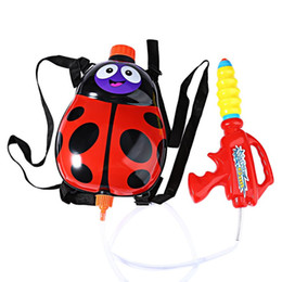$enCountryForm.capitalKeyWord UK - Kids Cute Ladybird Outdoor Super Soaker Blaster Backpack Pressure Squirt Pool Toy Fun Sports Summer Swimming Pool Battle