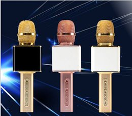 Microphone For Recording Phones Canada - Newest YS-10 ys10 Portable KTV Wireless Microphone Mini Karaoke Handheld Player KTV Singing Record for Smart Phones Computer