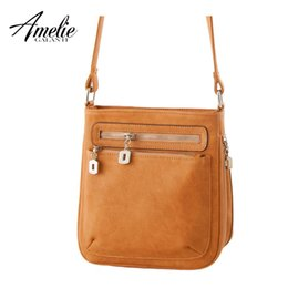 02e299c092 Wholesale-AMELIE GALANTI 2016 new fashion casual shoulder bags designer  handbags high quality Oblique cross package bag handbag women bag