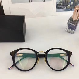 ca05b51dad8d Men round optical fraMe online shopping - TB008 Luxury Fashion Men Women  Brand Designer Popular TB