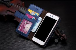 Black Stockings For Sale NZ - Retro real cowhide leather matte mobile phone wallet case for iphone 8 samsung s8 free shipping factory price stock sale