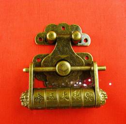 $enCountryForm.capitalKeyWord NZ - A6 Hasp lock K031 + Antique quality super good Guangzhou box buckle Chinese old copper lock hanging lock