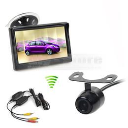 $enCountryForm.capitalKeyWord NZ - Wireless Parking Security System Kit 5inch Rear View Monitor Car Monitor + Waterproof HD Backup Car Camera
