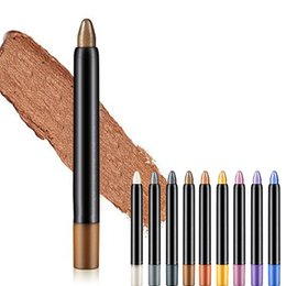 eye shadow pencil glitter NZ - 1pc Beauty Highlighter Eyeshadow Pencil Cosmetic Glitter Eye Shadow Pencil Makeup Tools for eyeshadow