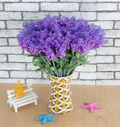 2018 Lavender Baby Shower Decorations Lavender Artificial Flower Branch For  Birthday Wedding Party Decoration Craft DIY