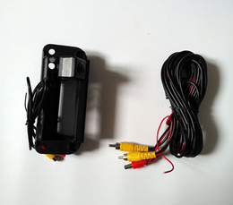 Mercedes rear view caMera online shopping - Special Trunk Switch Back Door Handle Camera CCD Car Rear View Camera Reversing Camera For Mercedes Benz C W204 C180 C200 C260