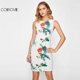 White tank dress cheap