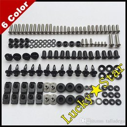 1998 cbr f3 fairings NZ - 100% For HONDA CBR600F3 CBR600 CBR 600 F3 1995 1996 1997 1998 95 96 97 98 Body Fairing Bolt Screw Fastener Fixation Kit