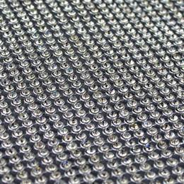 $enCountryForm.capitalKeyWord NZ - Big Promotion! 3mm rhinestone trim, rhinestone wrap mesh roll, beaded applique DIY crystal stone bridal trim wedding decoration