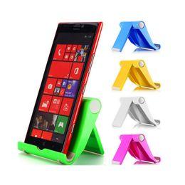 Desk tablet mount online shopping - 2017 Colorful Portable Adjust Angle Stand Holder Flexible Desk Phone holder Support Bracket Mount For Tablet ipad