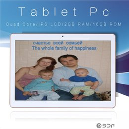 9.7 inch capacitive tablet pc 2019 - original phone call 10.1 inch Android Tablet 5.1 3G quad core Android 2 GB ram 16GB ROM IPS LCD Tablet PC 7 8 9 straight