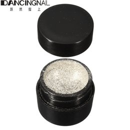 Chinese  Wholesale- Pro New 1Pcs 5g DIY Shinning Chrome Mirror Powder Pigment Glitters Dust For Nail Art Tip Decoration Silver Hot Fashion manufacturers