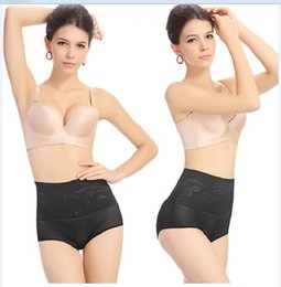 Wholesale Plus Size L XL Thin Breathable Bamboo Panties Slimming Body Waist Training Underwear Seamless Comfortable Shaper Briefs Pants