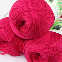 $enCountryForm.capitalKeyWord UK - Multi-color optional Lot of 3 skeins Soft Natural Smooth Bamboo Cotton Yarn Knitting B