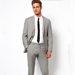 Slim Suit Light Grey Color Online | Slim Suit Light Grey Color for ...