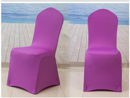 $enCountryForm.capitalKeyWord Canada - Hot selling wedding chair covers outdoor garden beach use chair covers Universal spandex Christmas decoration sofa chair cover