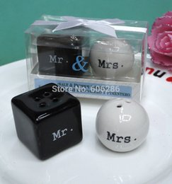 Discount door gift wedding - Wholesale-Wholesale Top Quality 150pairs lot wedding souvenirs Mr. & Discount Door Gift Wedding | Door Gift Wedding Favor 2018 on Sale at ...